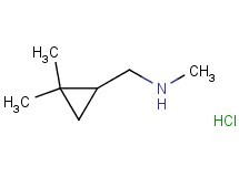 [(2,2-dimethylcyclopropyl)methyl]methylamine hydrochloride