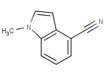 1-methyl-1H-indole-4-carbonitrile