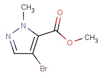 methyl 4-bromo-1-methyl-1H-pyrazole-5-carboxylate