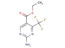 ethyl 2-amino-4-(trifluoromethyl)-5-pyrimidinecarboxylate