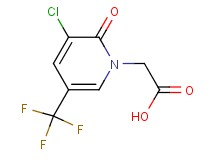 [3-chloro-2-oxo-5-(trifluoromethyl)-1(2H)-pyridinyl]acetic acid
