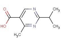 2-isopropyl-4-methyl-5-pyrimidinecarboxylic acid