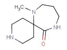 7-methyl-3,7,11-triazaspiro[5.6]dodecan-12-one