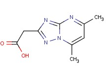 (5,7-dimethyl[1,2,4]triazolo[1,5-a]pyrimidin-2-yl)acetic acid