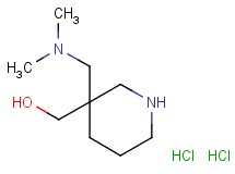 {3-[(dimethylamino)methyl]-3-piperidinyl}methanol dihydrochloride