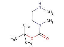 tert-butyl methyl[2-(methylamino)ethyl]carbamate