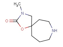 3-methyl-1-oxa-3,8-diazaspiro[4.6]undecan-2-one
