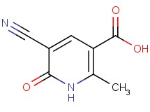 5-cyano-2-methyl-6-oxo-1,6-dihydro-3-pyridinecarboxylic acid