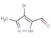 4-bromo-3-methyl-1H-pyrazole-5-carbaldehyde