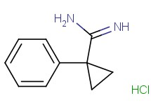 1-phenylcyclopropanecarboximidamide hydrochloride