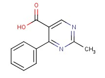 2-methyl-4-phenyl-5-pyrimidinecarboxylic acid