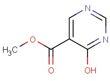 methyl 4-hydroxy-5-pyrimidinecarboxylate