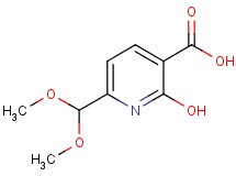 6-(dimethoxymethyl)-2-hydroxynicotinic acid