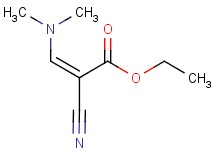 ethyl (2Z)-2-cyano-3-(dimethylamino)acrylate
