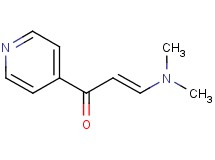 (2E)-3-(dimethylamino)-1-(4-pyridinyl)-2-propen-1-one