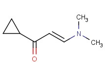 (2E)-1-cyclopropyl-3-(dimethylamino)-2-propen-1-one