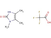 1,4,5-trimethyl-1,3-dihydro-2H-imidazol-2-one trifluoroacetate
