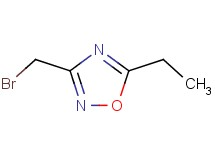 3-(bromomethyl)-5-ethyl-1,2,4-oxadiazole