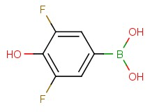(3,5-difluoro-4-hydroxyphenyl)boronic acid