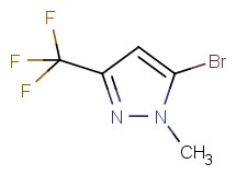 5-bromo-1-methyl-3-(trifluoromethyl)-1H-pyrazole