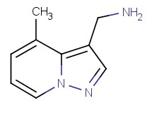 [(4-methylpyrazolo[1,5-a]pyridin-3-yl)methyl]amine