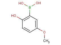 (2-hydroxy-5-methoxyphenyl)boronic acid