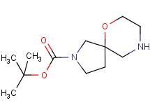 tert-butyl 6-oxa-2,9-diazaspiro[4.5]decane-2-carboxylate