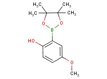 4-methoxy-2-(4,4,5,5-tetramethyl-1,3,2-dioxaborolan-2-yl)phenol