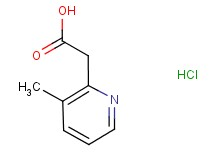 (3-methyl-2-pyridinyl)acetic acid hydrochloride