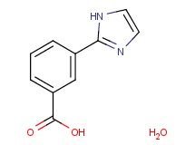 3-(1H-imidazol-2-yl)benzoic acid hydrate