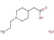 (1-propyl-4-piperidinyl)acetic acid hydrate