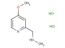 [(4-methoxy-2-pyridinyl)methyl]methylamine dihydrochloride