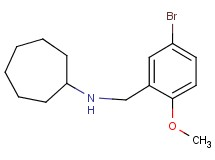 (5-bromo-2-methoxybenzyl)cycloheptylamine