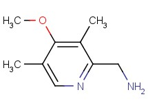 1-(4-methoxy-3,5-dimethyl-2-pyridinyl)methanamine