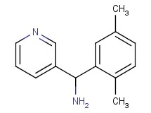 1-(2,5-dimethylphenyl)-1-(3-pyridinyl)methanamine