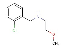 (2-chlorobenzyl)(2-methoxyethyl)amine