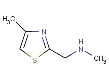 N-methyl-1-(4-methyl-1,3-thiazol-2-yl)methanamine