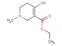 ethyl 4-hydroxy-1-methyl-1,2,5,6-tetrahydropyridine-3-carboxylate