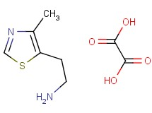 [2-(4-methyl-1,3-thiazol-5-yl)ethyl]amine hemioxalate