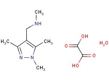 N-methyl-1-(1,3,5-trimethyl-1H-pyrazol-4-yl)methanamine oxalate hydrate