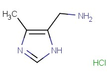 [(4-methyl-1H-imidazol-5-yl)methyl]amine hydrochloride