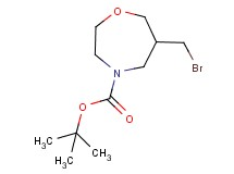 tert-butyl 6-(bromomethyl)-1,4-oxazepane-4-carboxylate