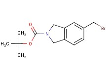 tert-butyl 5-(bromomethyl)-1,3-dihydro-2H-isoindole-2-carboxylate