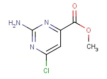 methyl 2-amino-6-chloro-4-pyrimidinecarboxylate