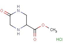 methyl 5-oxo-2-piperazinecarboxylate hydrochloride