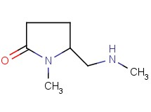 1-methyl-5-[(methylamino)methyl]pyrrolidin-2-one