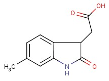 (6-methyl-2-oxo-2,3-dihydro-1H-indol-3-yl)acetic acid