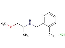 (2-methoxy-1-methylethyl)(2-methylbenzyl)amine hydrochloride