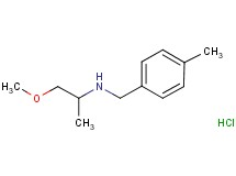 (2-methoxy-1-methylethyl)(4-methylbenzyl)amine hydrochloride