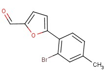5-(2-bromo-4-methylphenyl)-2-furaldehyde